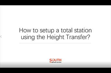 Episode 5_N40_How to Setup a Total Station by Height Transfer