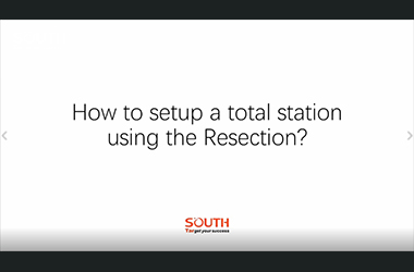 Episode 6_N40_How to setup a total station using Resection