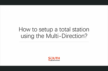 Episode 7_N40_How to setup a total station using multi direction