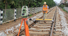 Measuring Trolley Systems Working in Overseas Rail Engineering